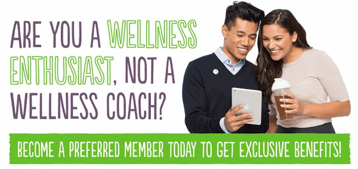 become a herbalife preferred customer